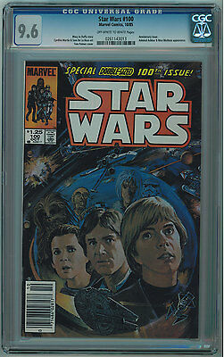 Star Wars #100 Cgc 9.6 High Grade White Pages Copper Age