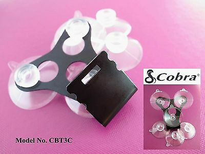 COBRA Radar Detector Windshield Mount+6 A Suction Cups For All Recent& OLD Model