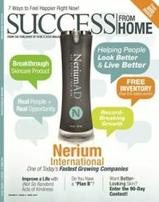 Nerium Success From Home magazine, lot of 10, Brand new and sealed with free DVD