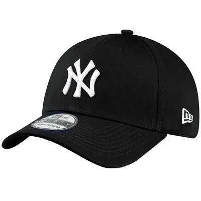 New Era 39Thirty Flexfit Cap - NY YANKEES schwarz / weiß