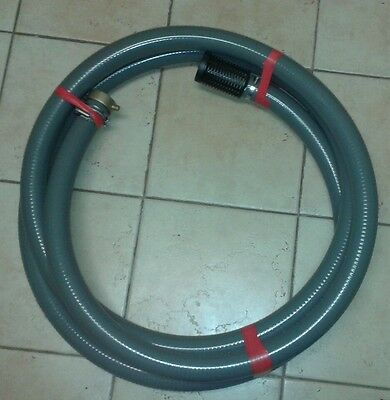 Firefighting pump suction hose 1.5 inch (40mm) x 5m