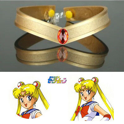 Anime Sailor Moon Tsukino Usagi Cosplay Prop Accessory Tiara Headwear Headband