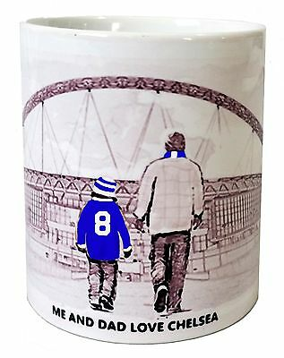 Chelsea Mug Football shirt Fathers Day Xmas New Gift