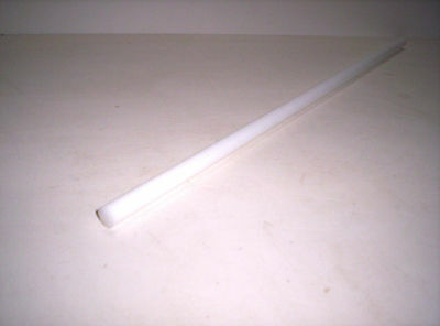 6492) POM white/natural, Round rod, ø 8mm
