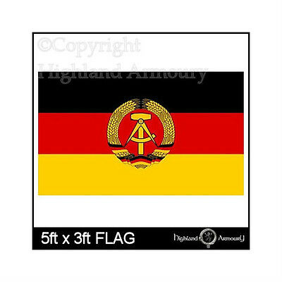 5' x 3' FLAG East Germany German DDR National Federal Large Flags ft New