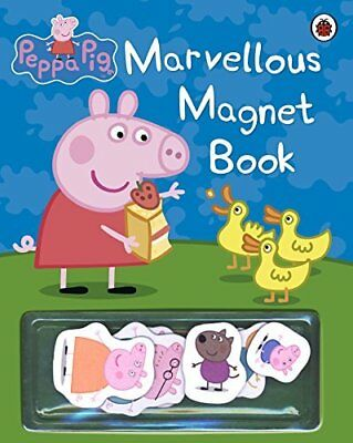 Peppa Pig: Marvellous Magnet Book by Ladybird New Hardback Book