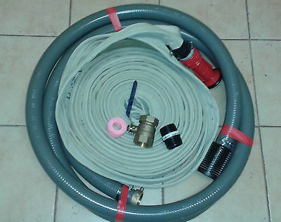 Pump accesory recycled fire hose kit 2