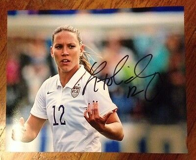 Lauren Holiday - 2015 Womens World Cup Champs USA Signed 8 X 10 Soccer