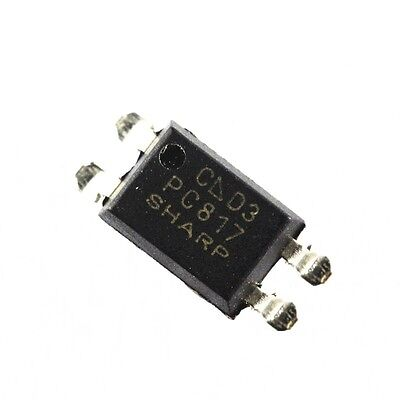 50PCS PC817 PC817C PC817/C PC817 SHARP SOP-4 Precise SMD Optocoupler