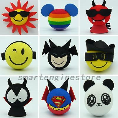 Cute Superman Aerial Ball Car Antenna Topper For Truck SUV Decoration Gift Toy
