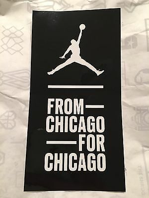 Air Jordan Flight 23 Chicago Sticker LIMITED From Chicago For Chicago Station 23