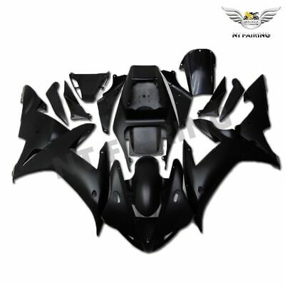 Injection Molded Matte Black Plastic Fairing Fit for YAMAHA 2002 2003 YZF R1 q27
