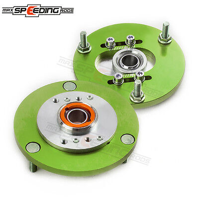 For BMW 3 Series E36 Coilover Top Mount 318 328 323 M3 Front Camber Plate Green