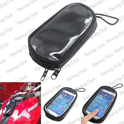 Protable Motorcycle Fuel Tank phone Bag Mount Magnetic Waterproof Bag For Harley