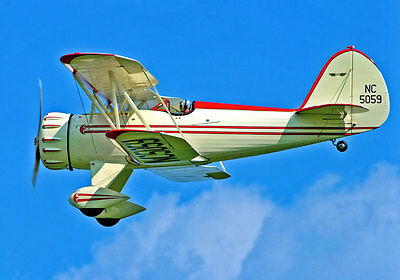 1/5 Scale WACO YMF-3   Giant Scale RC AIrplane Printed Plans & Templates