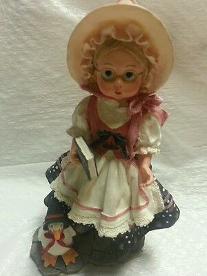 """Madame alexander collector mother goose  figure signed & year """" 2000"""""""