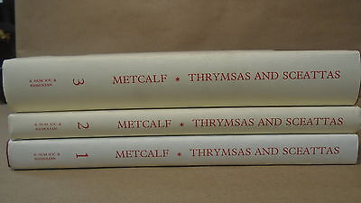 Metcalf Thrymsas And Sceattas In The Ashmolean Museum Oxford Volumes 1 2 3