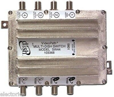 SW44 Dish Network Bell EXPRESS MULTI SWITCH SW-44 110 119 SATELLITE TV