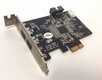 HP 508927-001 PCIe IEEE 1394b Firewire interface card ( low profile )