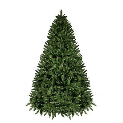 6FT 1.8M Christmas Xmas Tree Green Tassie Fir Hinged 994 Tips