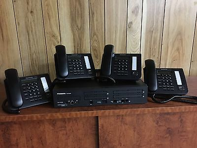 Panasonic NS700 Phone System with  PSTN Lines and Digital Phones