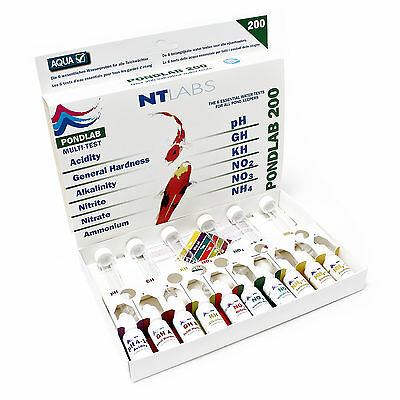 TTNTLabs Pond 200 Multi Testkit for pond water and aquarium water
