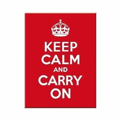 Nostalgic-Art Magnet 8x6 cm - Keep Calm and Carry On