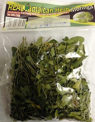 Real Jamaican Herb Moringa Leaves