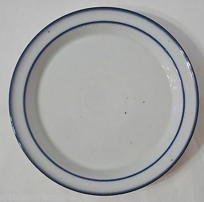 "Dansk Blue Mist 8 1/2"" Salad Plate Impressed Mark Denmark Stoneware Side China"