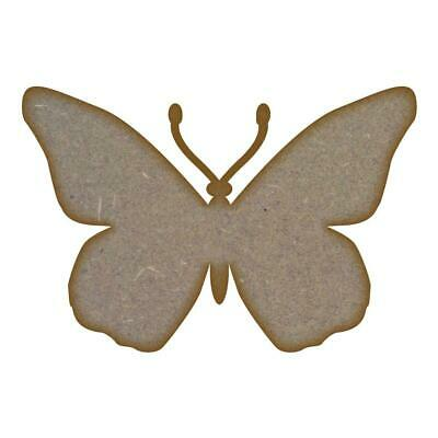 Wooden Butterfly shape Tag Bauble mdf craft Blank various sizes CFE175