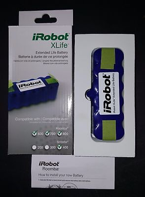 iRobot Roomba XLife Extended Life Battery - NEW - Part # 4419696