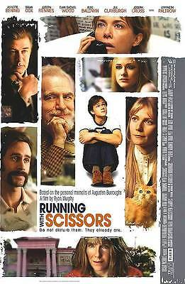 Running With Scissors B Double Sided Original Movie Poster 27x40 inches