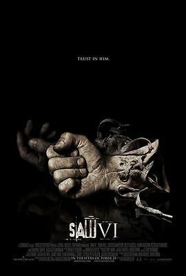 Saw VI Single Sided Original Movie Poster 27x40 inches