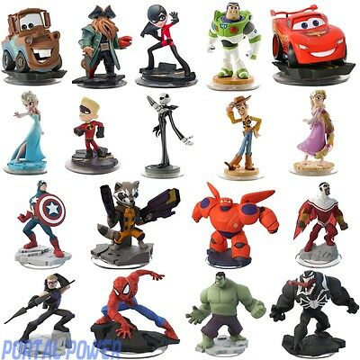 Disney Infinity 1.0 & 2.0 Figures + Play Set Crystals (Compatible With 3.0)