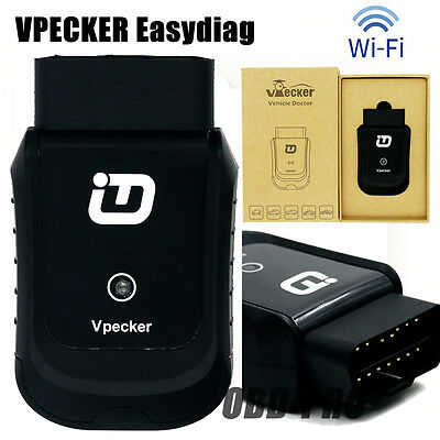 VPECKER Easydiag Wireless OBDII Full Diagnostic Tool V8.7 WiFi Free Update