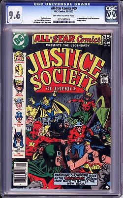 All-Star Comics #69 Cgc 9.6  Oww Pages!   1St Appearance Of The Huntress!