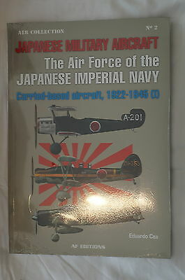 WW2 Japanese Imperial Navy Carrier Based Aircraft 2 Referenece Book