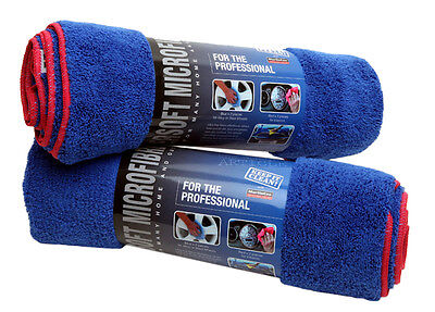 2 x Professional Giant Miracle Dry Large Microfibre Car Home Drying Towel Cloth