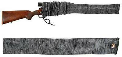 "Allen 52"" Knit Rifle Scope Gun Sock Cover Gray Grey Hunting Shooting NEW"