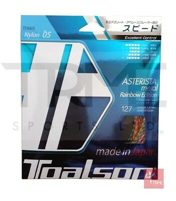Toalson Asterisk Metal Rainbow 1.27mm Tennis String Set