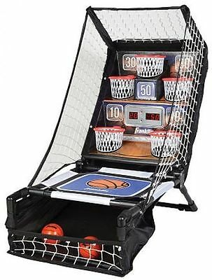 Basketball Arcade LED Electronic Basketball Game with Ball Return Gameroom