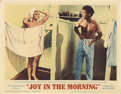Joy in the Morning 1965 Original Movie Poster Drama