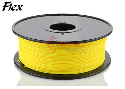 FLEXIBLE  3D Printer Filament 1.75mm TORWELL QUALITY  1kg