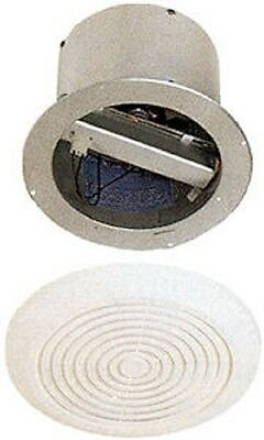 """Mobile Home Bath Exhaust Fan- 7"""" Round w/ White Cover"""