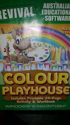 Colour Playhouse Ages 3-6 (NEW AND SEALED)PC GAME