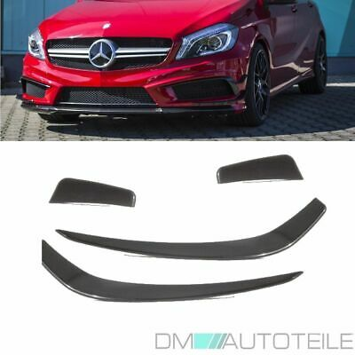 Mercedes A-Class W176 Aero Edition 1 Spoiler Flaps Flips + Equipment for A45 AMG
