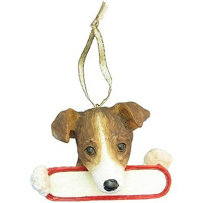 Jack Russell Ornament  # 17