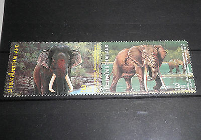 "Thailand 2003 ""elephants"" Mnh Set (Cat.x)"