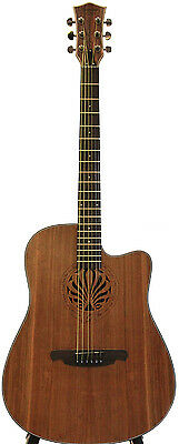 Spanish style acoustic guitar brand new iMG842 41 inch full size