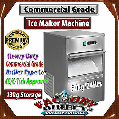 Brand New Commercial Ice Maker / Machine 50 To 65Kg/24 Hours Rrp:$1950